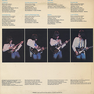 Jeff Beck / Wired back