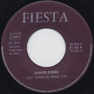Jr. Dibbs / Hot Thing c/w Down Et High back