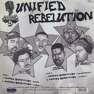 Jurassic 5 / Unified Rebelution back