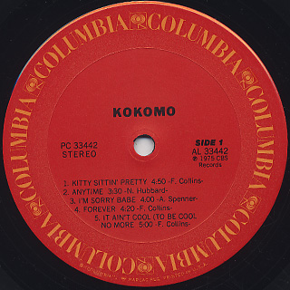 Kokomo / S.T. label