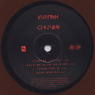 Kutmah / Closure label