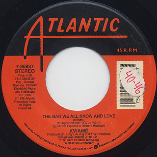 Kwame / The Rhythm c/w The Man We All Know And Love back
