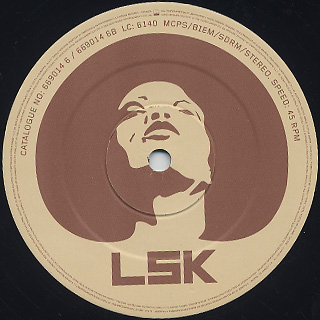 LSK / Hate Or Love(Slum Village / Mahogany Remixes) label