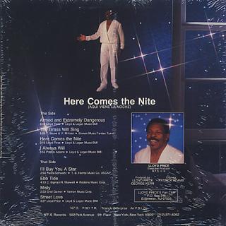 Lloyd Price / Here Comes The Nite back