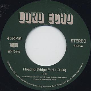 Lord Echo / Floating Bridge Part 1 c/w Makossa No.2 label
