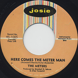 Meters / Cissy Strut c/w Here Comes The Meter Man back