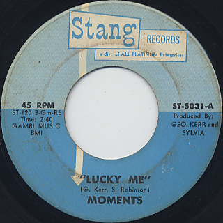 Moments / Lucky Me