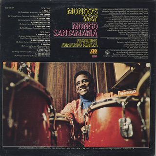 Mongo Santamaria / Mongo's Way back
