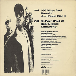 N.W.A / 100 Miles And Runnin' back
