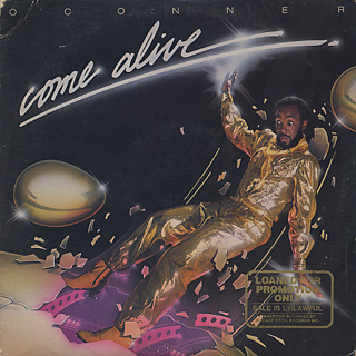 O'Conner / Come Alive front