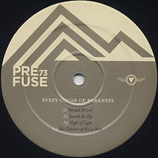 Prefuse 73 / Every Color Of Darkness label
