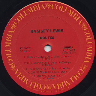Ramsey Lewis / Routes label