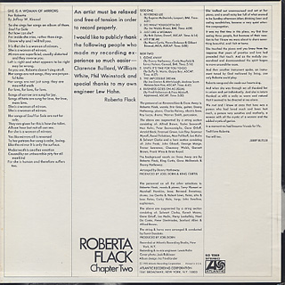 Roberta Flack / Chapter Two back