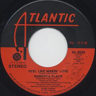 Roberta Flack / Feel Like Makin' Love (45)