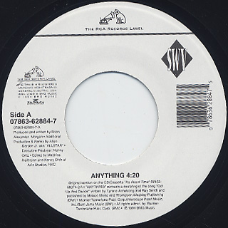 SWV / Anything c/w Always On My Mind