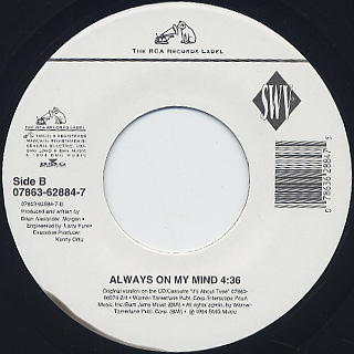 SWV / Anything c/w Always On My Mind back