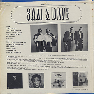 Sam and Dave / S.T. back