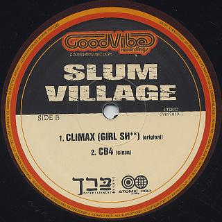Slum Village / Climax (Girl Sh**) label