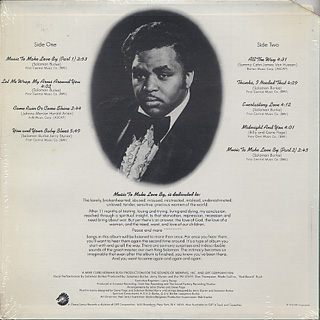 Solomon Burke / Music To Make Love By back
