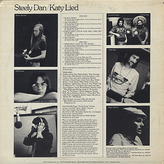 Steely Dan Katy Lied Lp Mca 中古レコード通販 大阪 Root Down