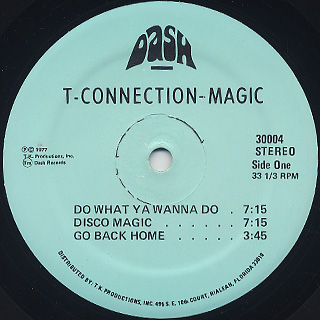 T-Connection / Magic label