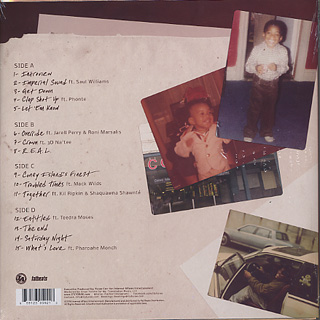 Torae / Entitled (2LP) back