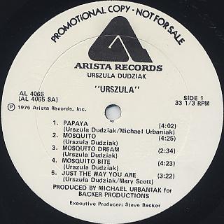 Urszula Dudziak / Urszula label