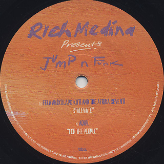 V.A. / Rich Medina Presents Jump N Funk label