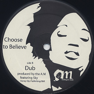 A.M feat.Sky / Choose To Believe back