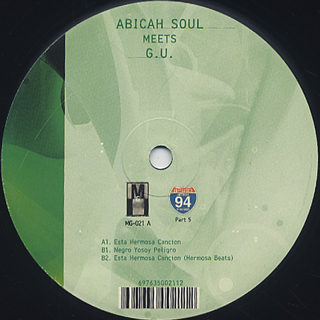 Abicah Soul Meet G.U. / Esta Hermosa Cancion
