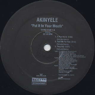 Akinyele / Put It In Your Mouth back
