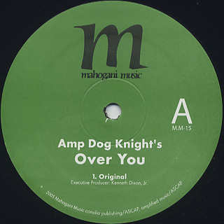 Amp Dog Knight / Over U label