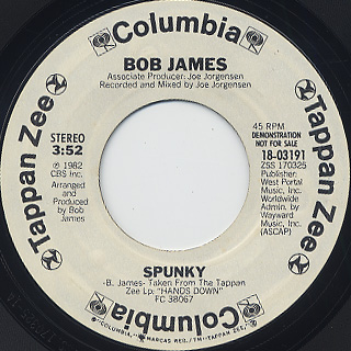 Bob James / Spunky back
