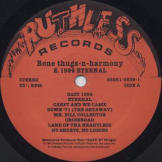 Bone Thugs-N-Harmony / E. 1999 Eternal label