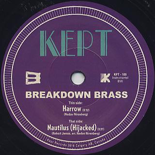 Breakdown Brass / Harrow c/w Nautilas(Hijacked)