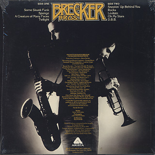 Brecker Brothers / S.T. back