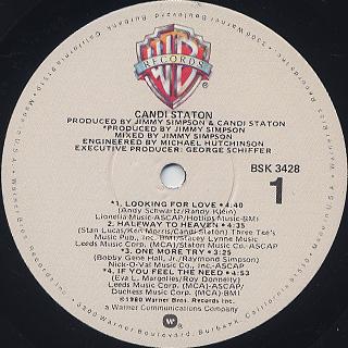 Candi Staton / S.T. label