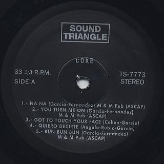 Coke / S.T. label