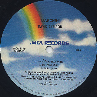 David Axelrod / Marchin' label
