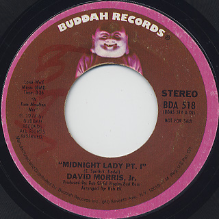 David Morris, Jr. / Midnight Lady
