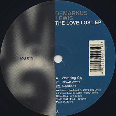 Demarkus Lewis / The Love Lost EP