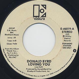 Donald Byrd / Loving You (7