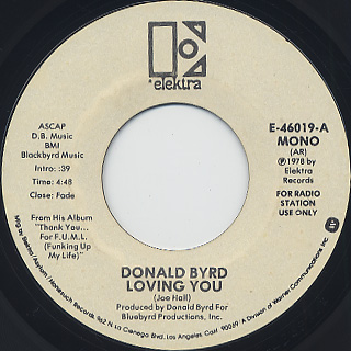 Donald Byrd / Loving You (7