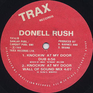 Donell Rush / Knockin' At My Door back