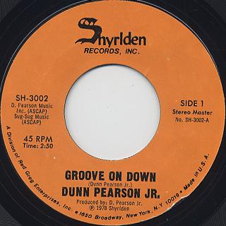 Dunn Pearson Jr. / Groove On Down