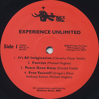 Experience Unlimited / Free Yourself label