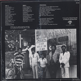 Fatback Band / Let's Do It Again back