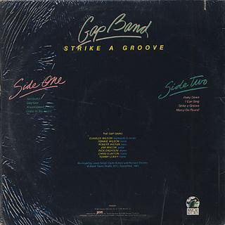 Gap Band / Strike A Groove back