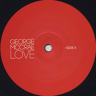 George McCrae / Love label