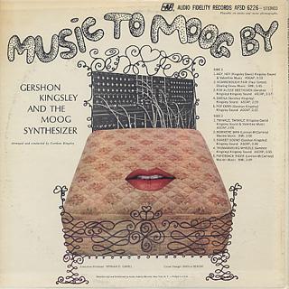 Gershon Kingsley / Music To Moog By back